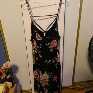 CHARLOTTE RUSSE BODYCON STRAPY DRESS